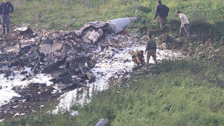 سلاح جو العدو الاسرائيلي يكشف تفاصيل جديدة عن إسقاط الـ F-16