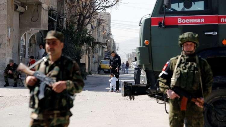 المركز الروسي للمصالحة: المسلحون قصفوا الممر الآمن في الغوطة الشرقية