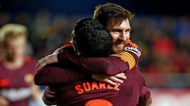 برشلونة بطلا للدوري الإسباني للمرة الـ25 في تاريخه