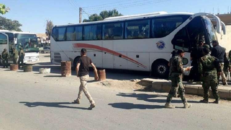 بدء إجلاء المحاصرين في كفريا والفوعة في ريف إدلب