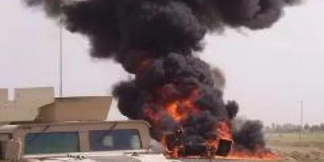 استهداف رتل للقوات الأميركية بصاروخ وسط #العراق 2020-10-01