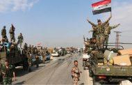 الجيش السوري يبدأ عمليات تمشيط واسعة في بادية السويداء