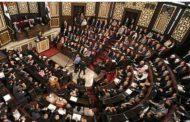 شاهد عضو بمجلس الشعب السوري يتقدم باستقالته والمجلس يوافق