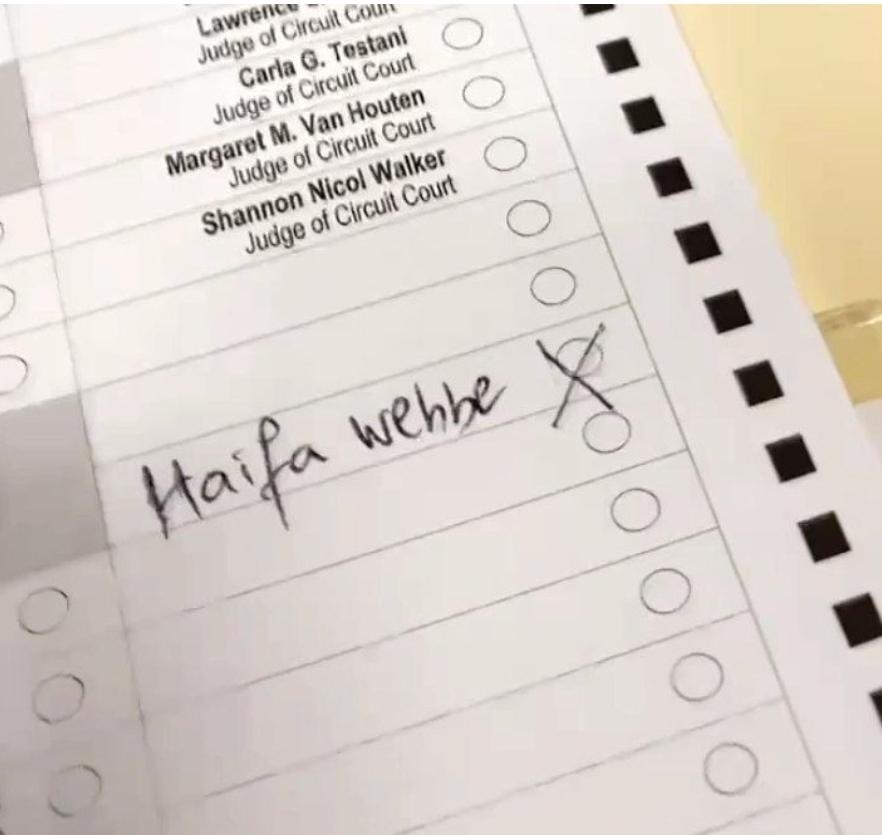 هيفاء وهبي تنافس ترامب وبايدن في الانتخابات الأمريكية